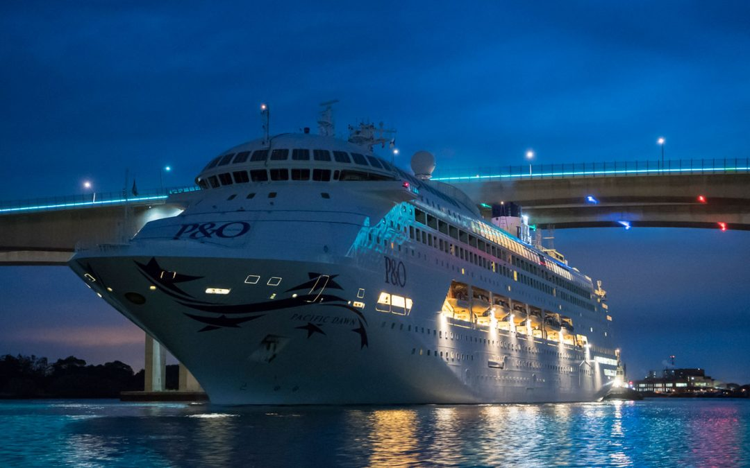 Brisbane's new international cruise terminal