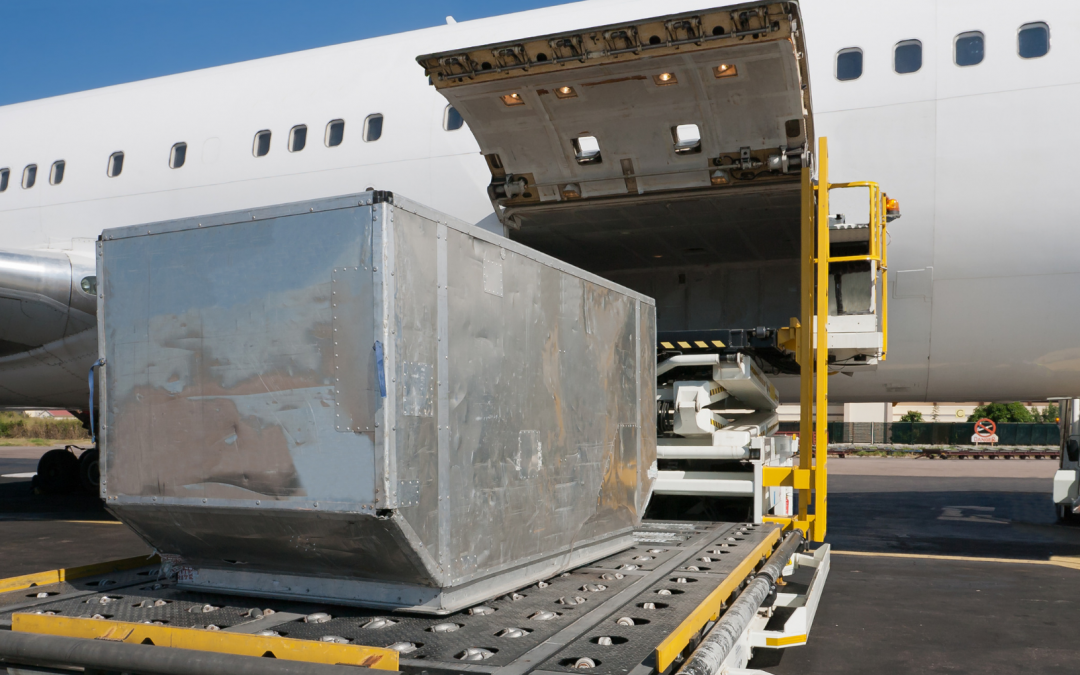 Air Freight Volumes Fall
